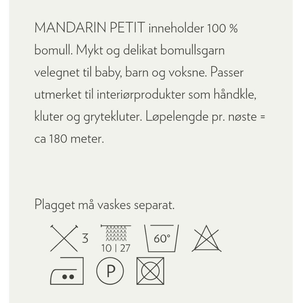 MANDARIN PETIT Natur 1012